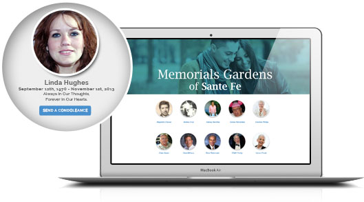Qeepr business memorial pages